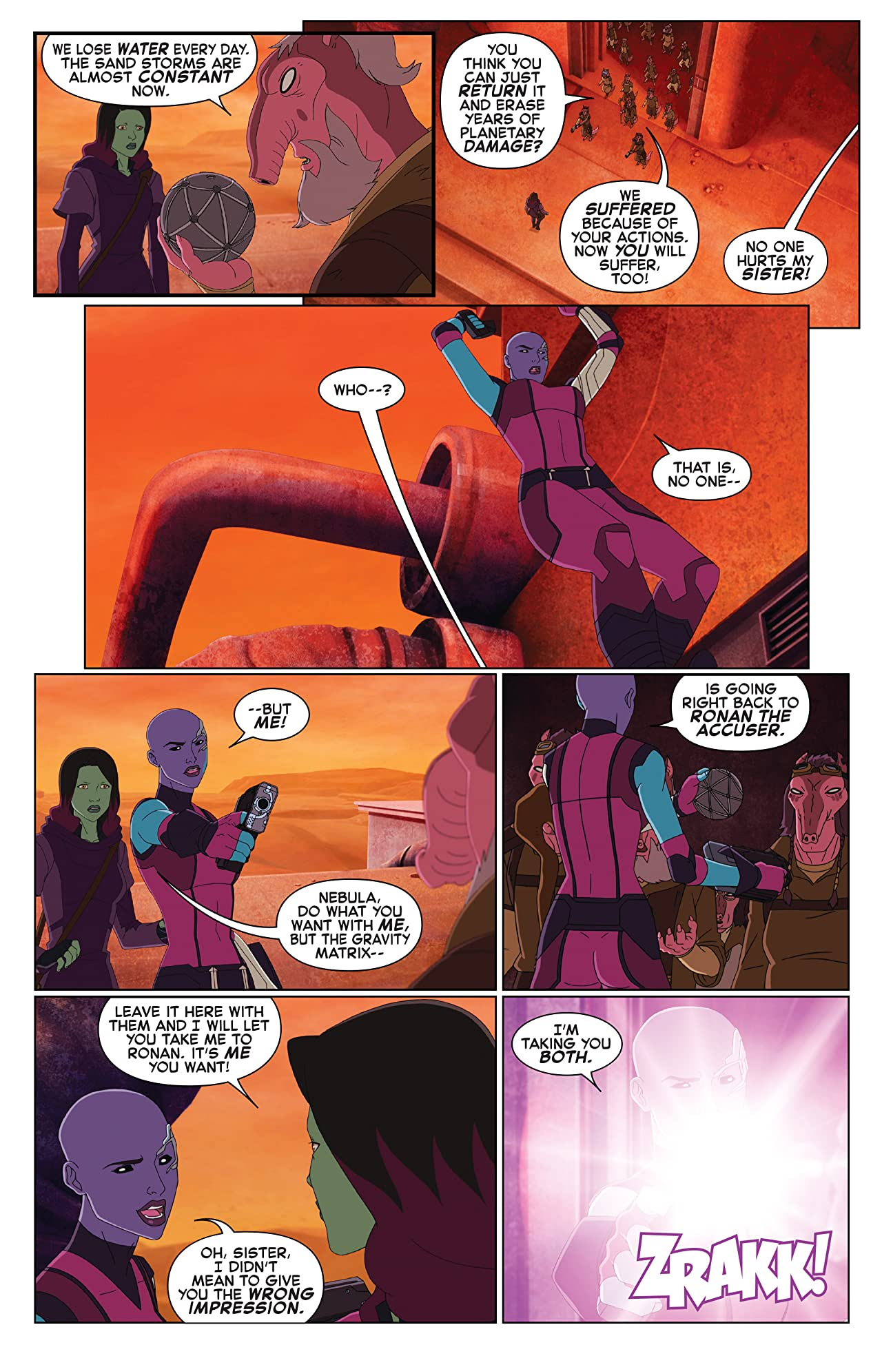 Marvel Universe Guardians of the Galaxy (2015-2017) #21