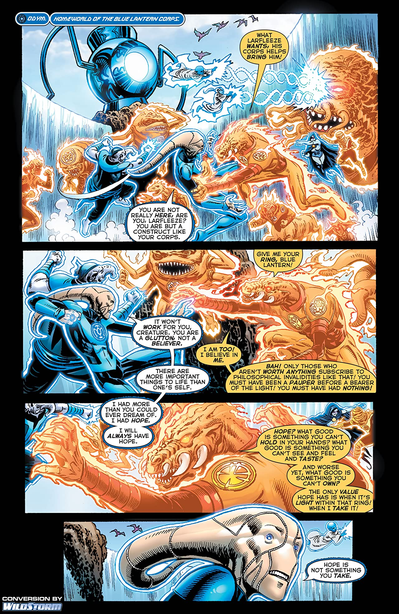 Blackest Night: Tales of the Corps #1 (of 3)