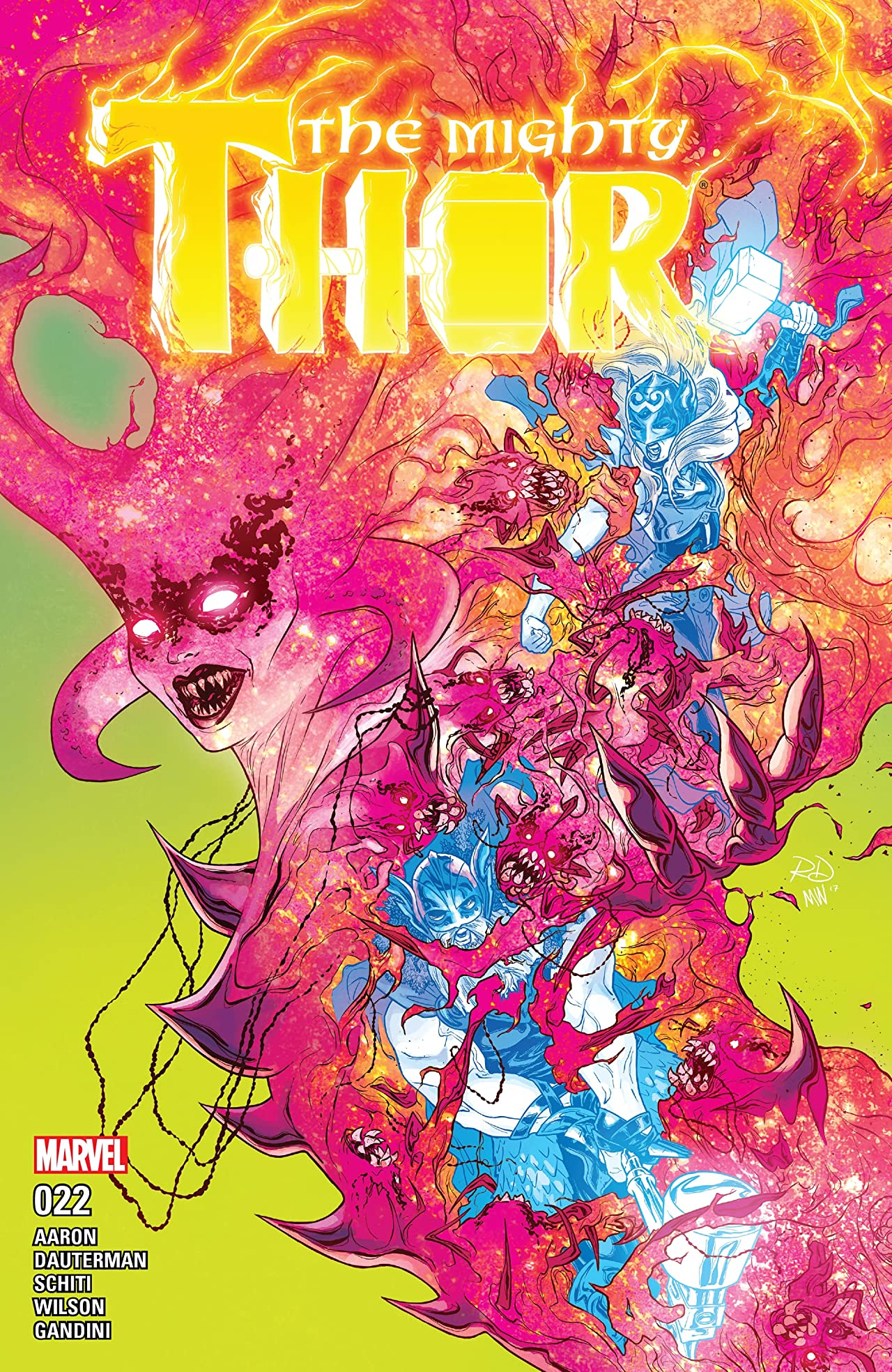 The Mighty Thor (2015-) #22