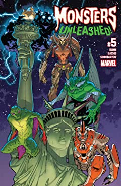 Monsters Unleashed (2017-2018) #5