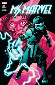 Ms. Marvel (2015-2019) #21
