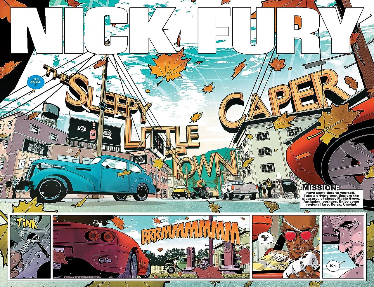 Nick Fury (2017) #5