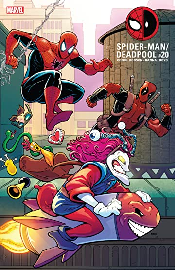 Spider Man/Deadpool (2016 ) #20