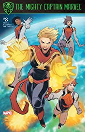 The Mighty Captain Marvel (2016-2017) #8