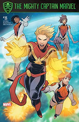 The Mighty Captain Marvel (2016-2017) #8
