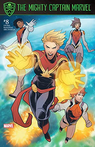 The Mighty Captain Marvel (2016-) #8