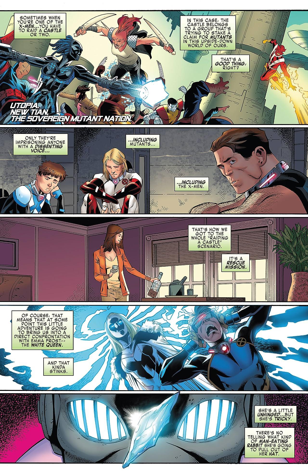 X-Men: Blue (2017-) #9