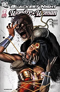 Blackest Night: Wonder Woman No.1 (sur 3)