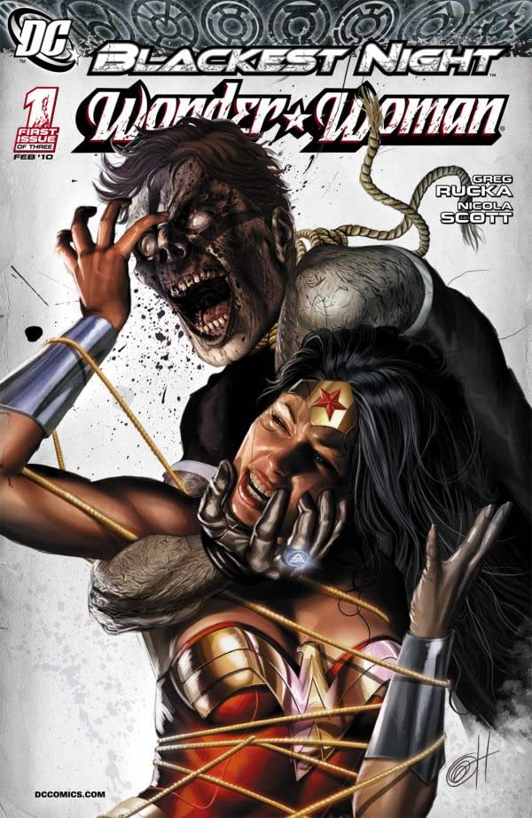 Blackest Night: Wonder Woman #1 (of 3)