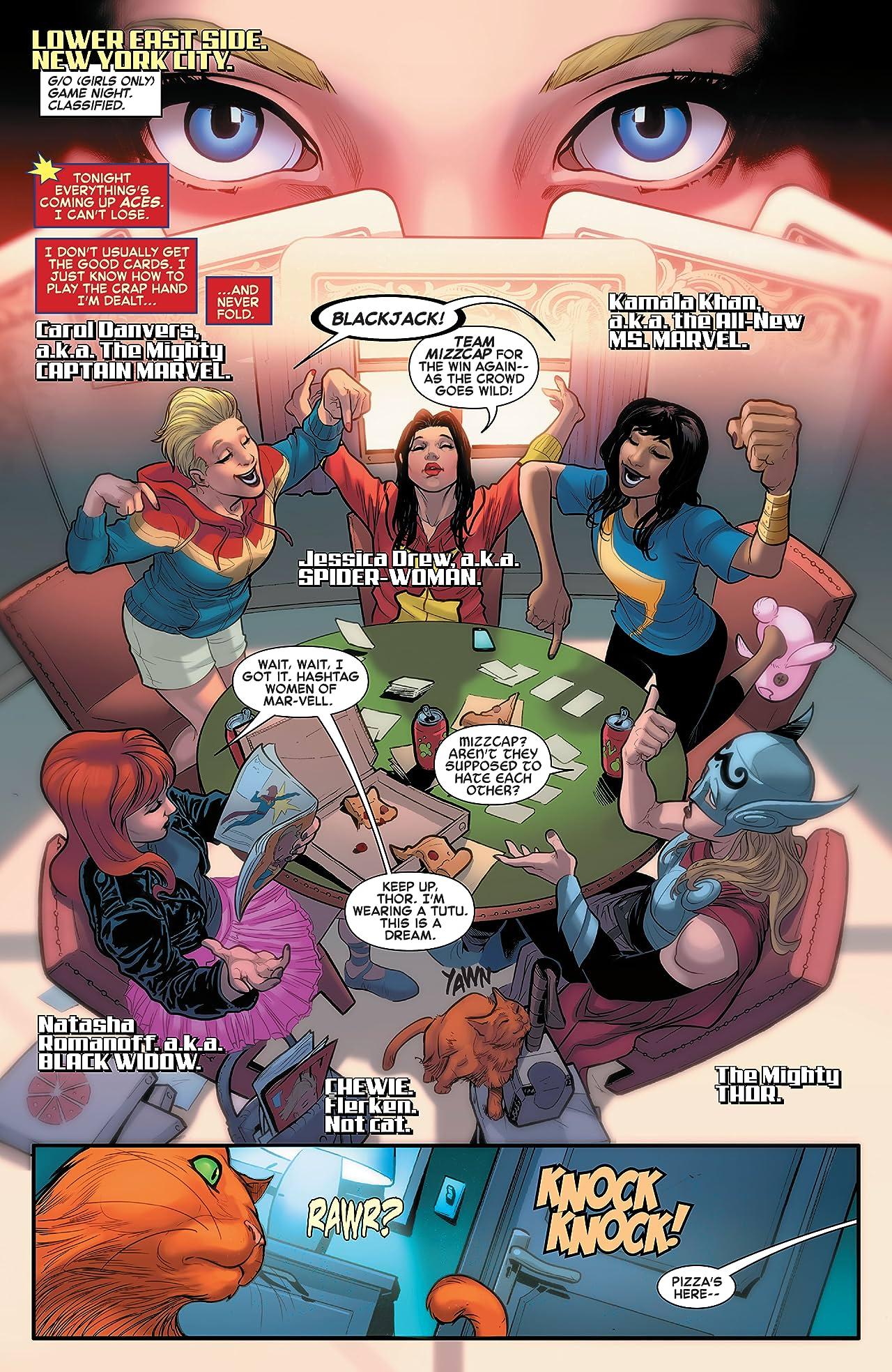 The Mighty Captain Marvel Vol. 1: Alien Nation