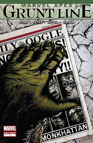Marvel Apes: Grunt Line Special (2009) #1