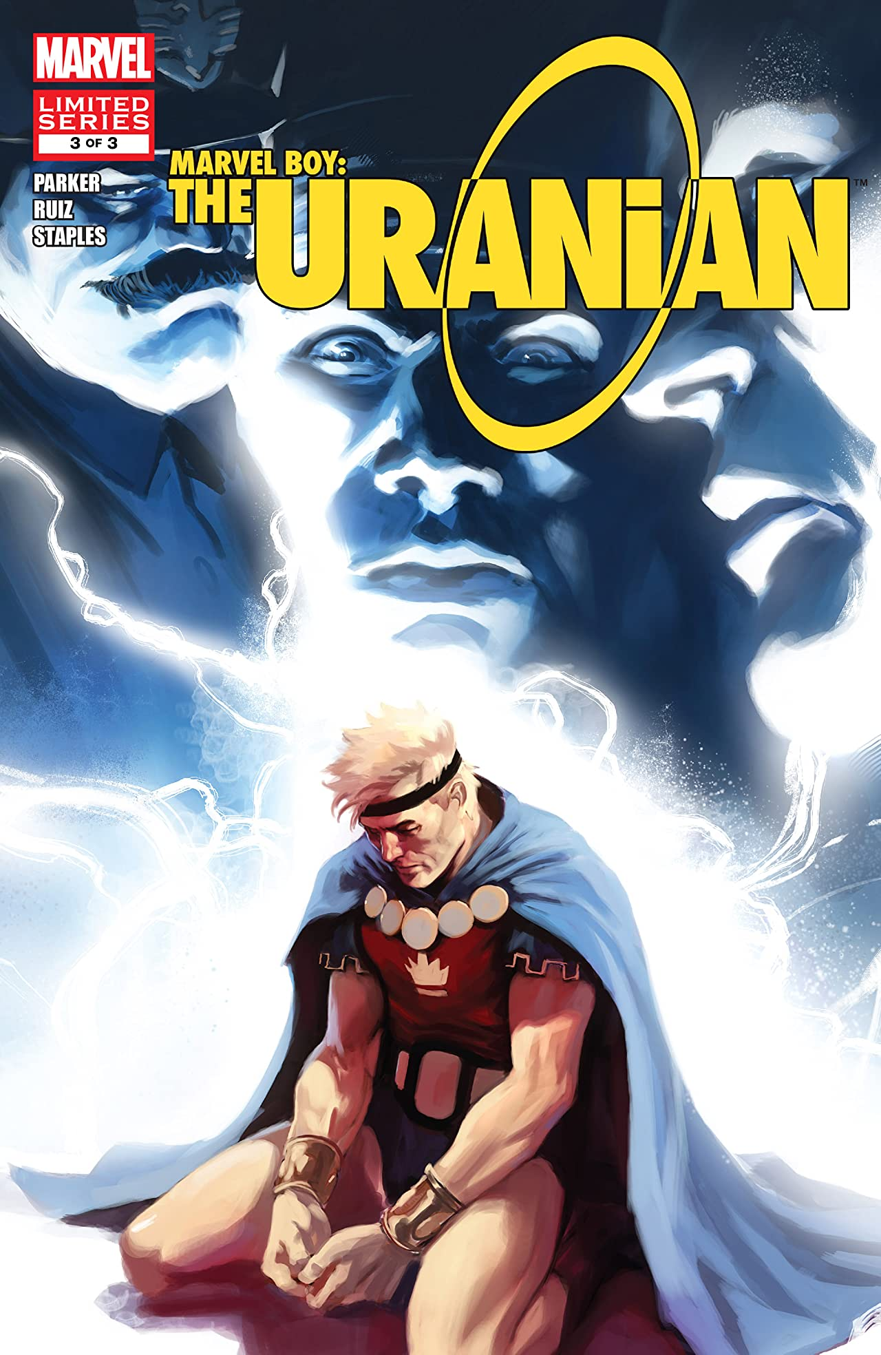 Marvel Boy: The Uranian (2010) #3 (of 3)