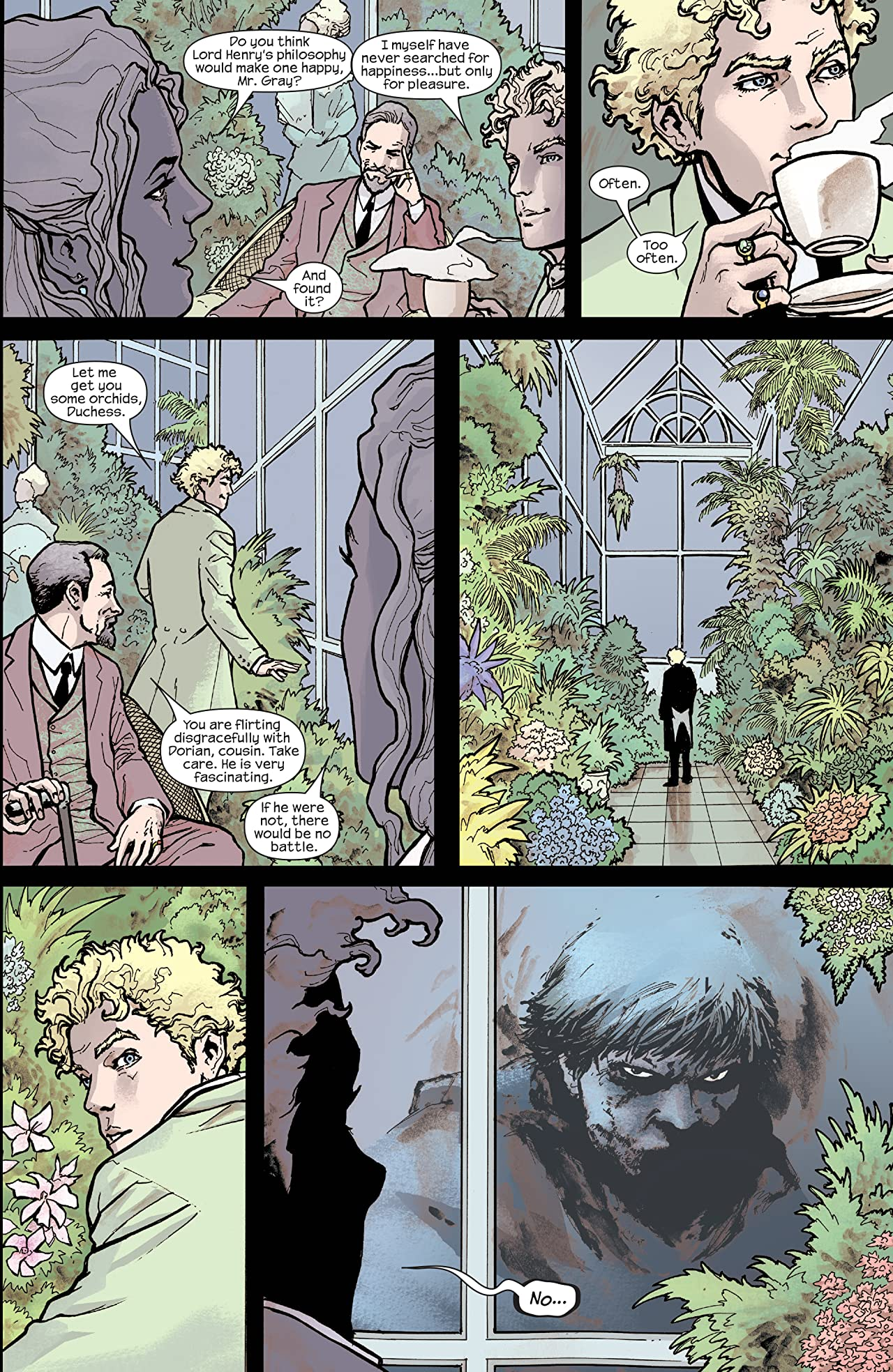 Marvel Illustrated: Picture of Dorian Gray (2007-2008) #6 (of 6)