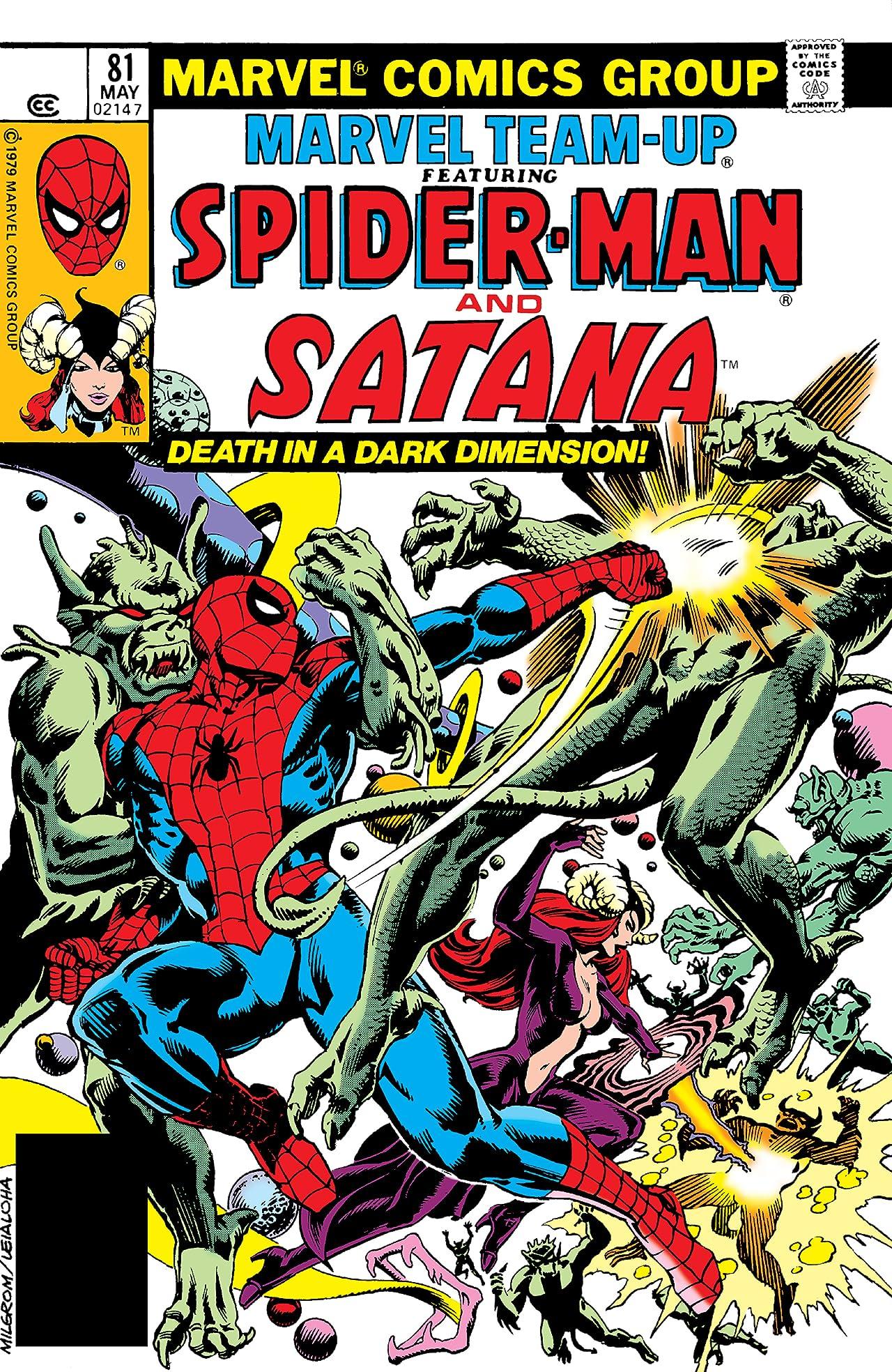 Marvel Team-Up (1972-1985) #81