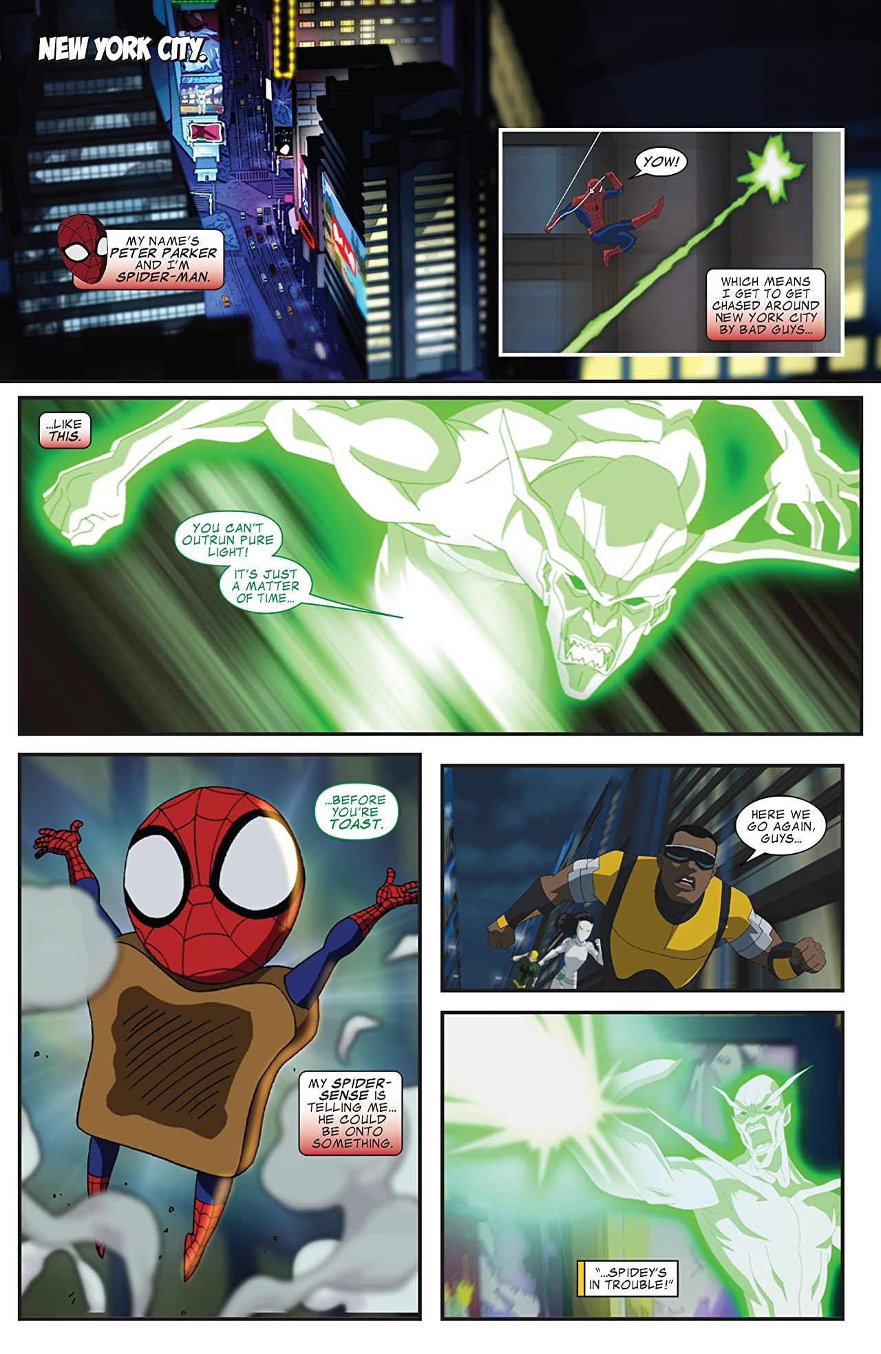 Marvel Universe Ultimate Spider-Man (2012-2014) #13
