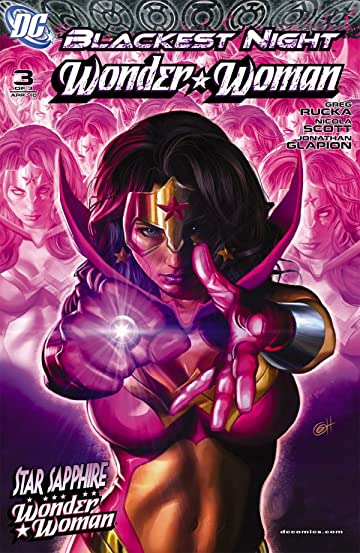 Blackest Night: Wonder Woman #3