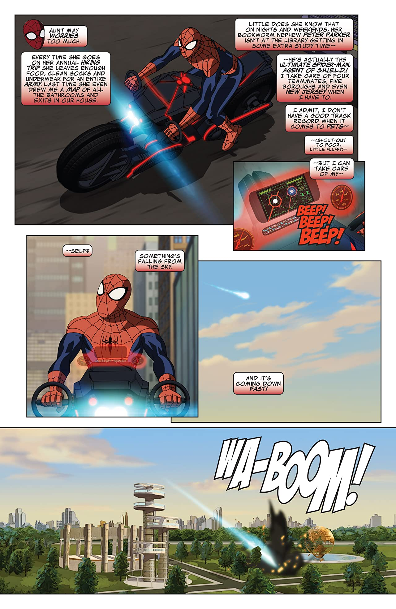 Marvel Universe Ultimate Spider-Man (2012-2014) #28