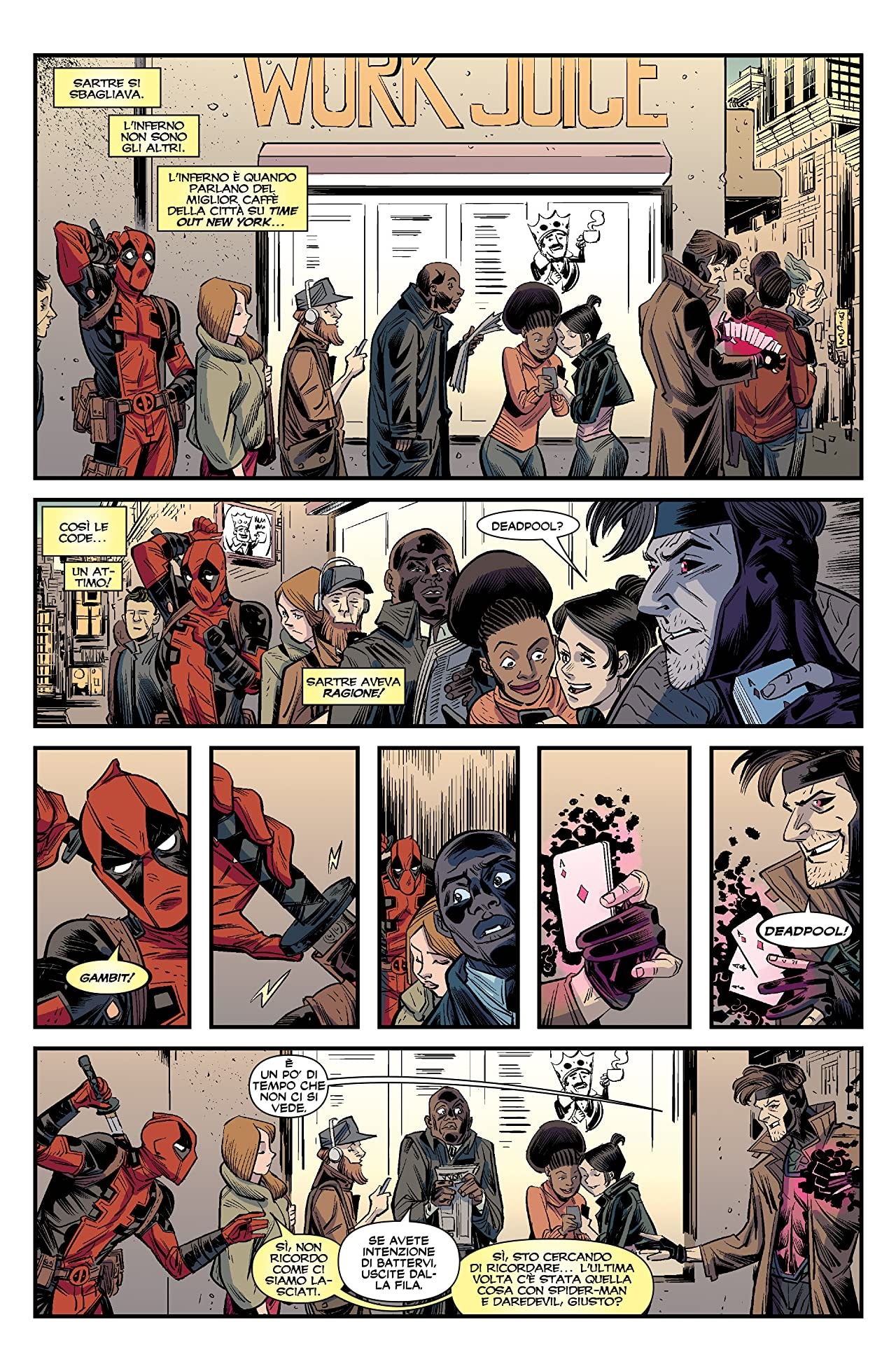 """Deadpool C Gambit: La """"C"""" Sta Per """"Contro"""""""