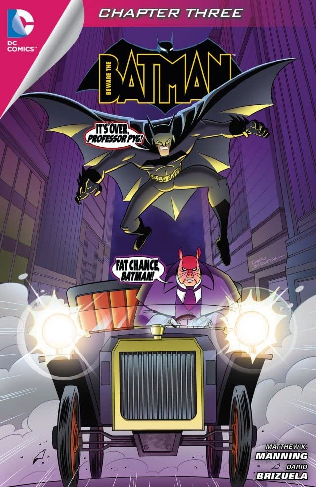 Beware the Batman (2013-2014) #3