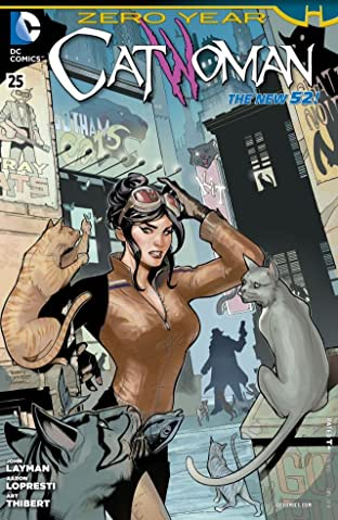 Catwoman (2011-2016) #25
