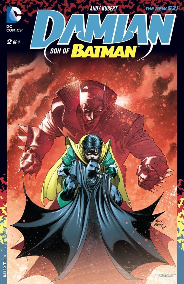 Damian: Son of Batman (2013-2014) #2 (of 4)