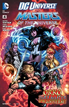 DC Universe vs. The Masters of the Universe (2013) #4 (of 6)