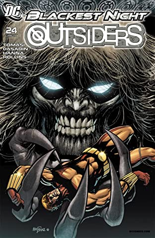 Outsiders (2007-2011) #24