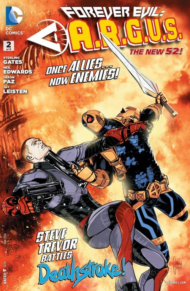 Forever Evil: A.R.G.U.S. (2013-2014) #2 (of 6)