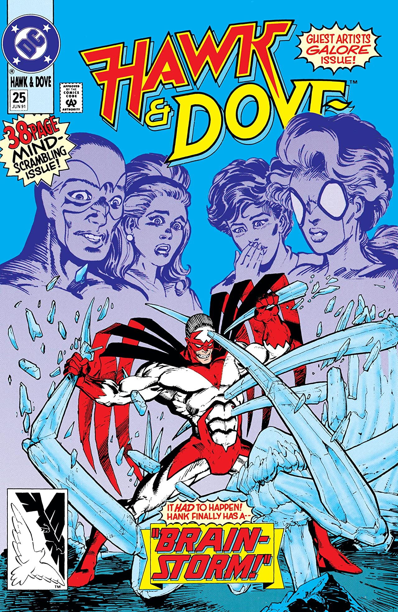 Hawk and Dove (1989-1991) #25