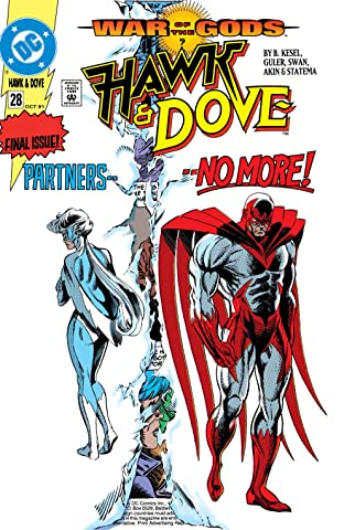 Hawk and Dove (1989-1991) #28