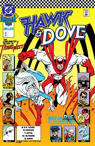 Hawk and Dove (1989-1991) Annual #1