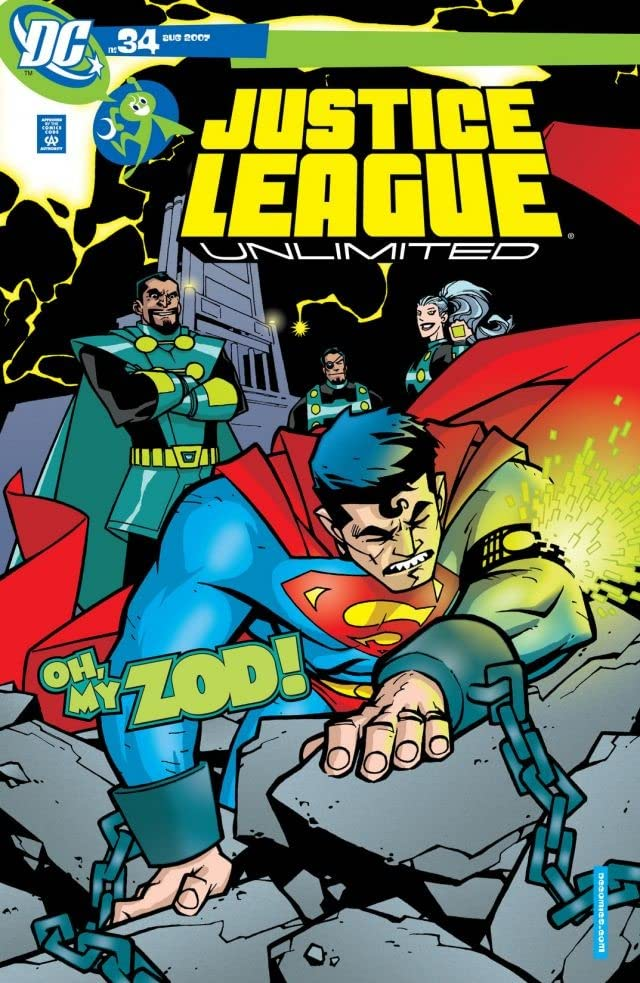 Justice League Unlimited #34