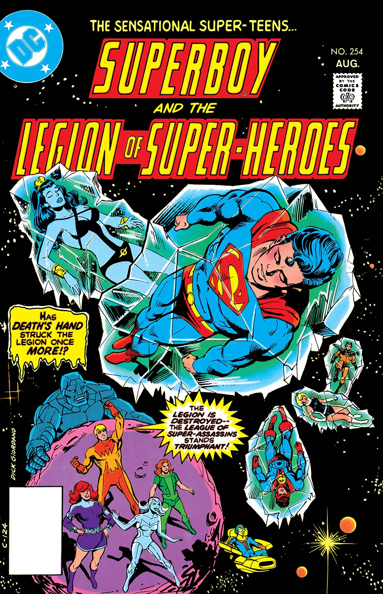 Superboy and the Legion of Super-Heroes (1949-1979) #254