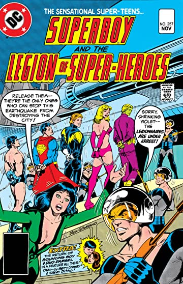 Superboy and the Legion of Super-Heroes (1949-1979) #257
