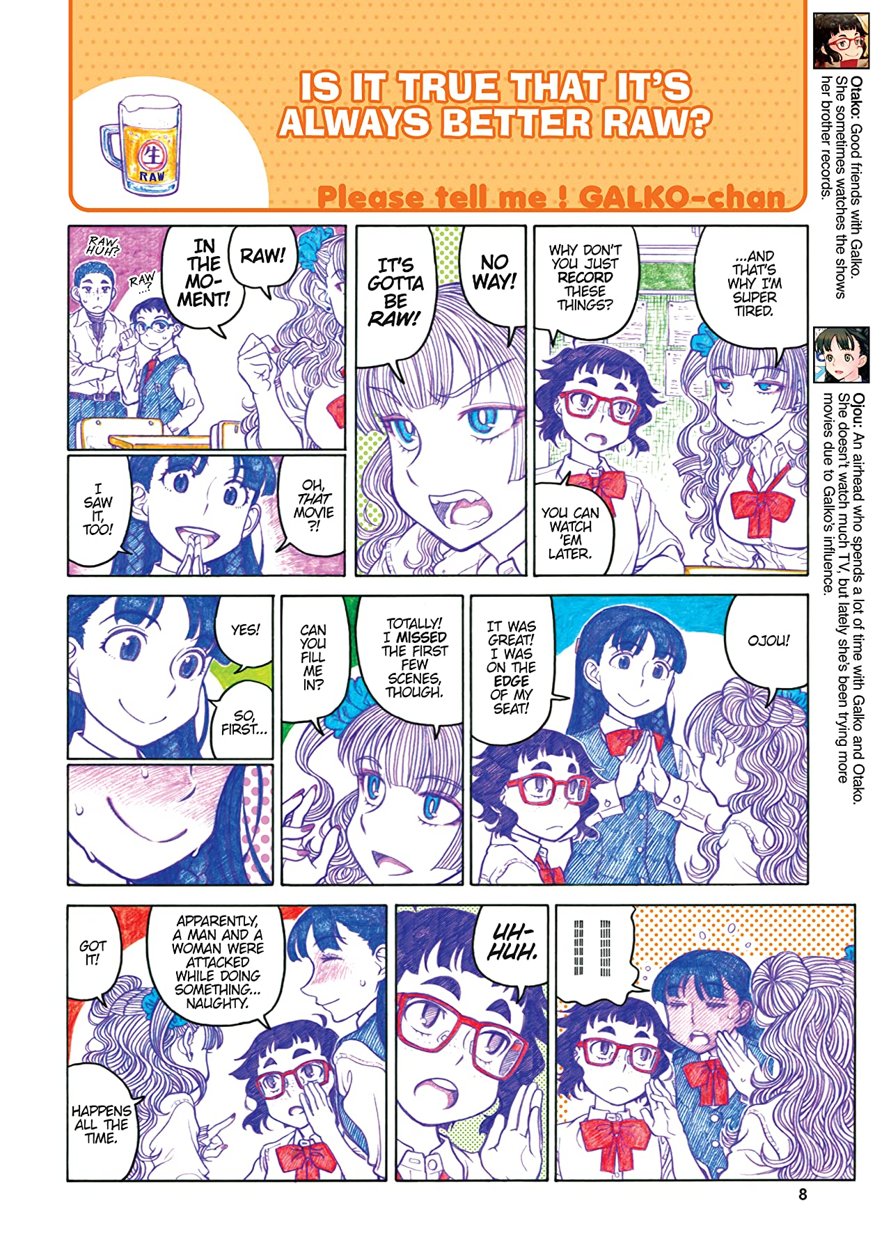 Please Tell Me! Galko-chan Vol. 3