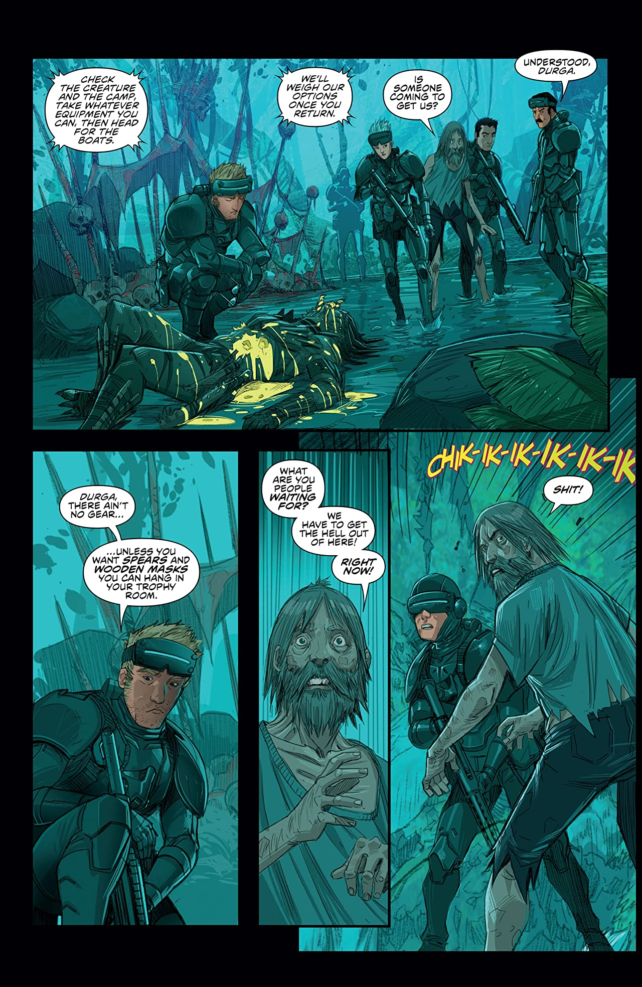 Predator: Hunters #4