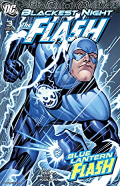 Blackest Night: The Flash No.3 (sur 3)