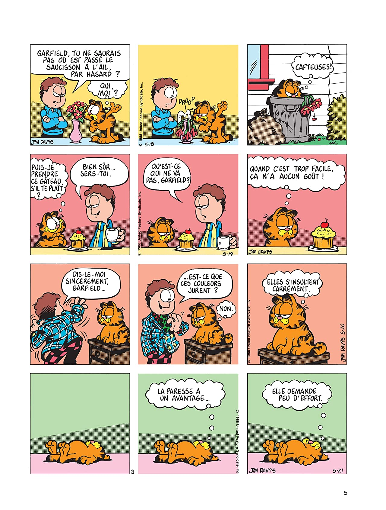 Garfield Vol. 14: Garfield, Lave plus blanc