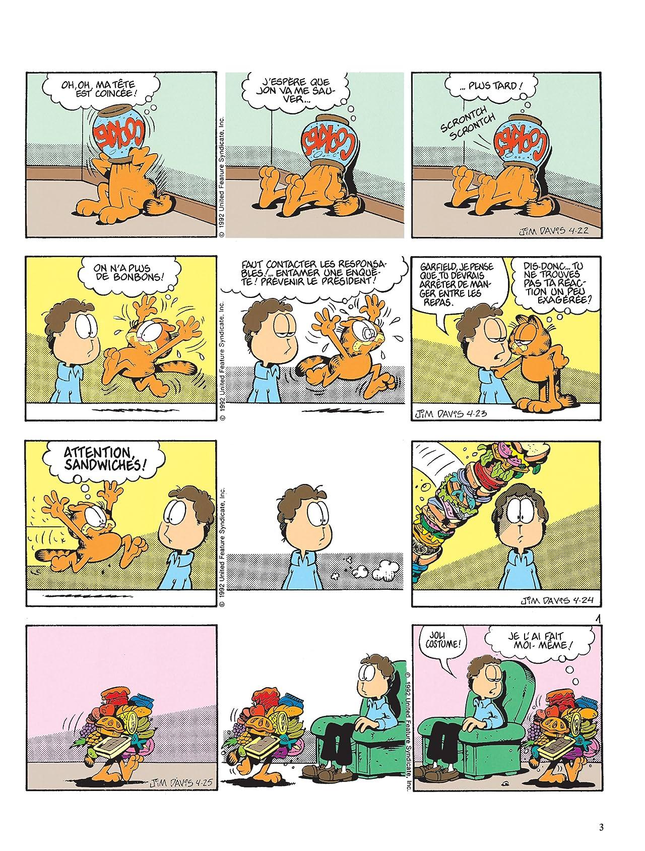 Garfield Vol. 21: La Soupe est froide  !