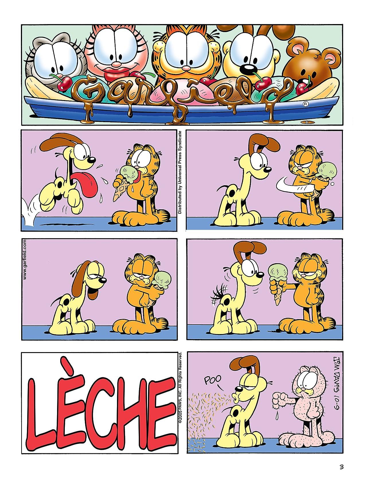 Garfield Vol. 49: A table !
