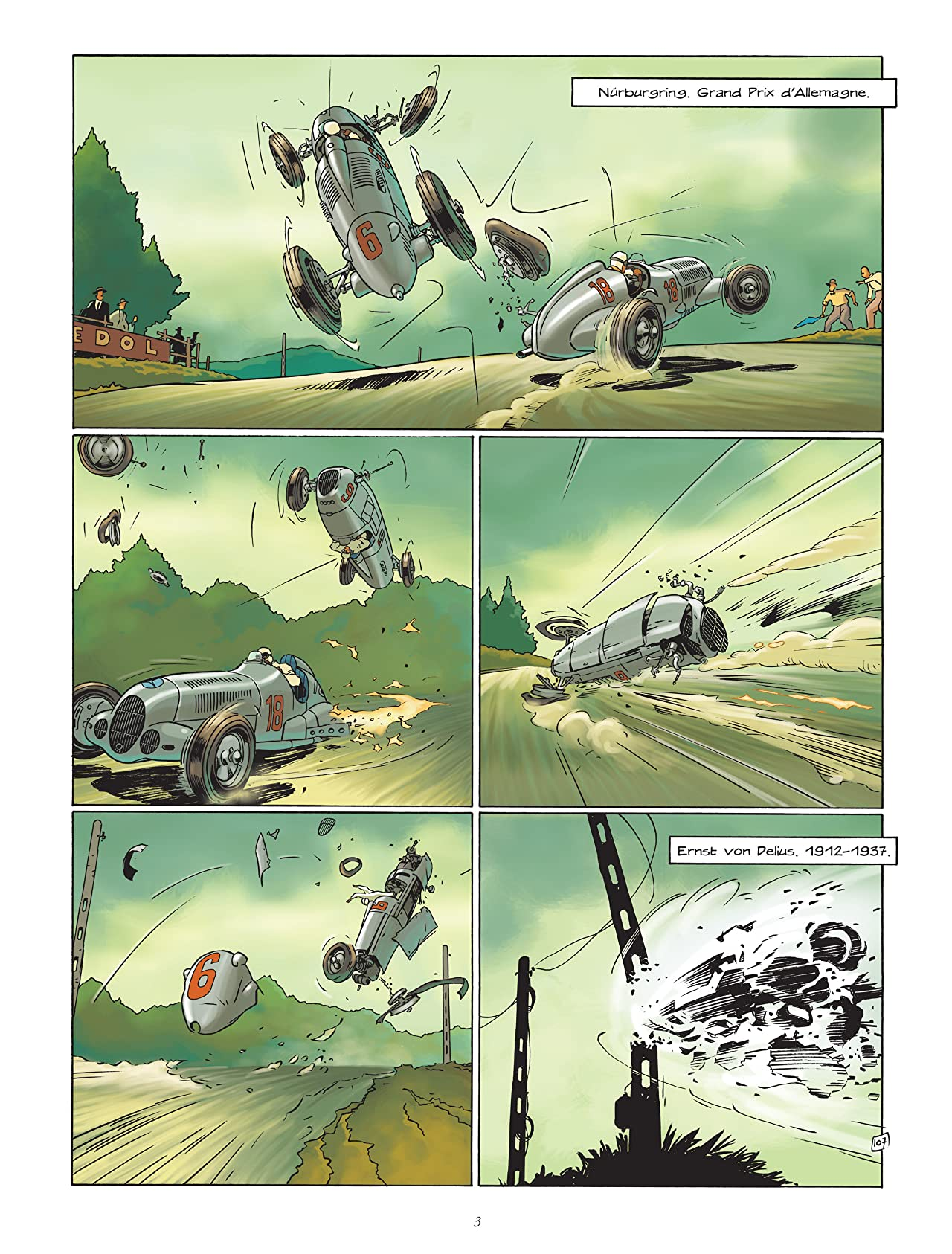Grand Prix Vol. 3: Adieu