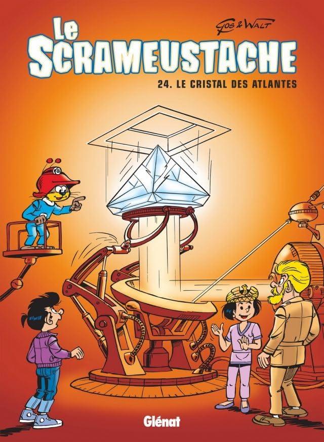 Le Scrameustache Vol. 24: Le cristal des Atlantes
