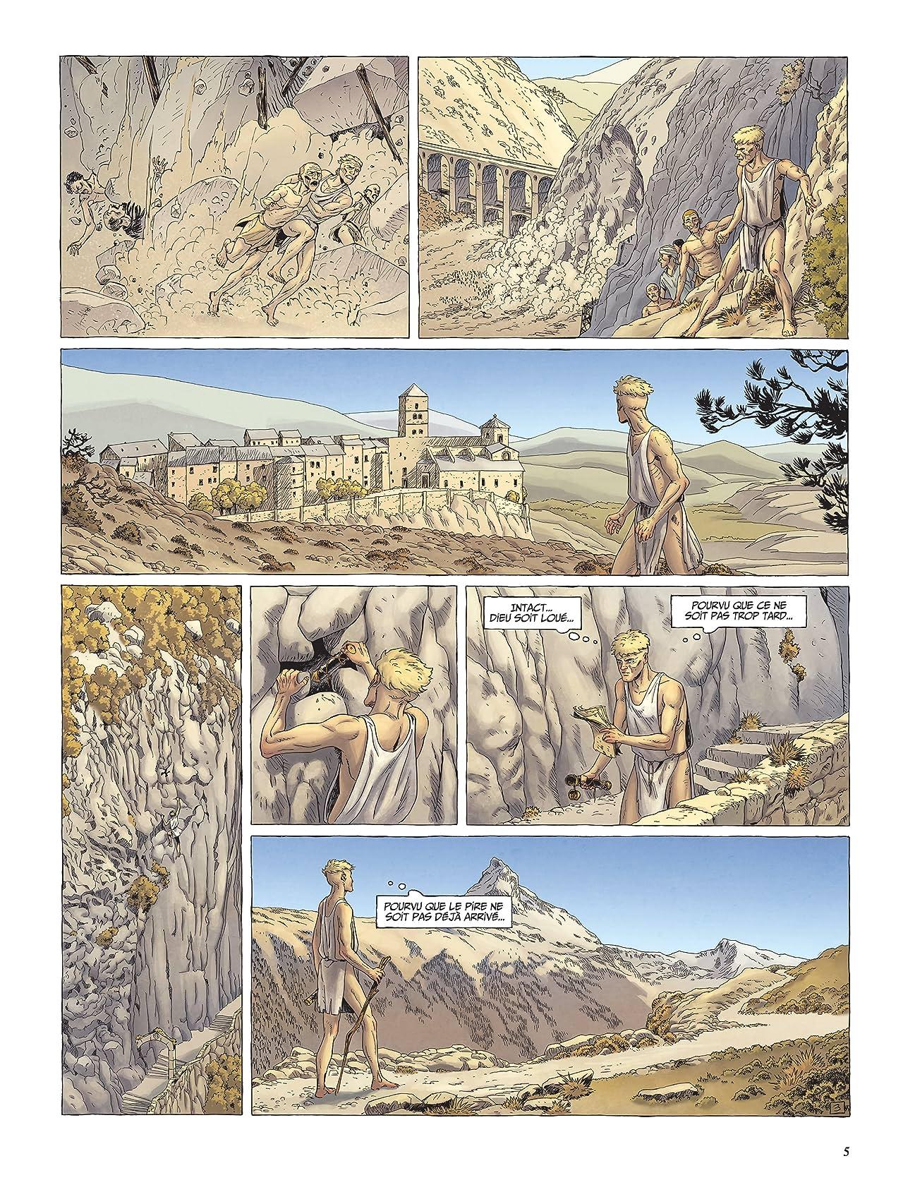 Le Dernier Templier- Saison 1 Vol. 4: Le faucon du temple