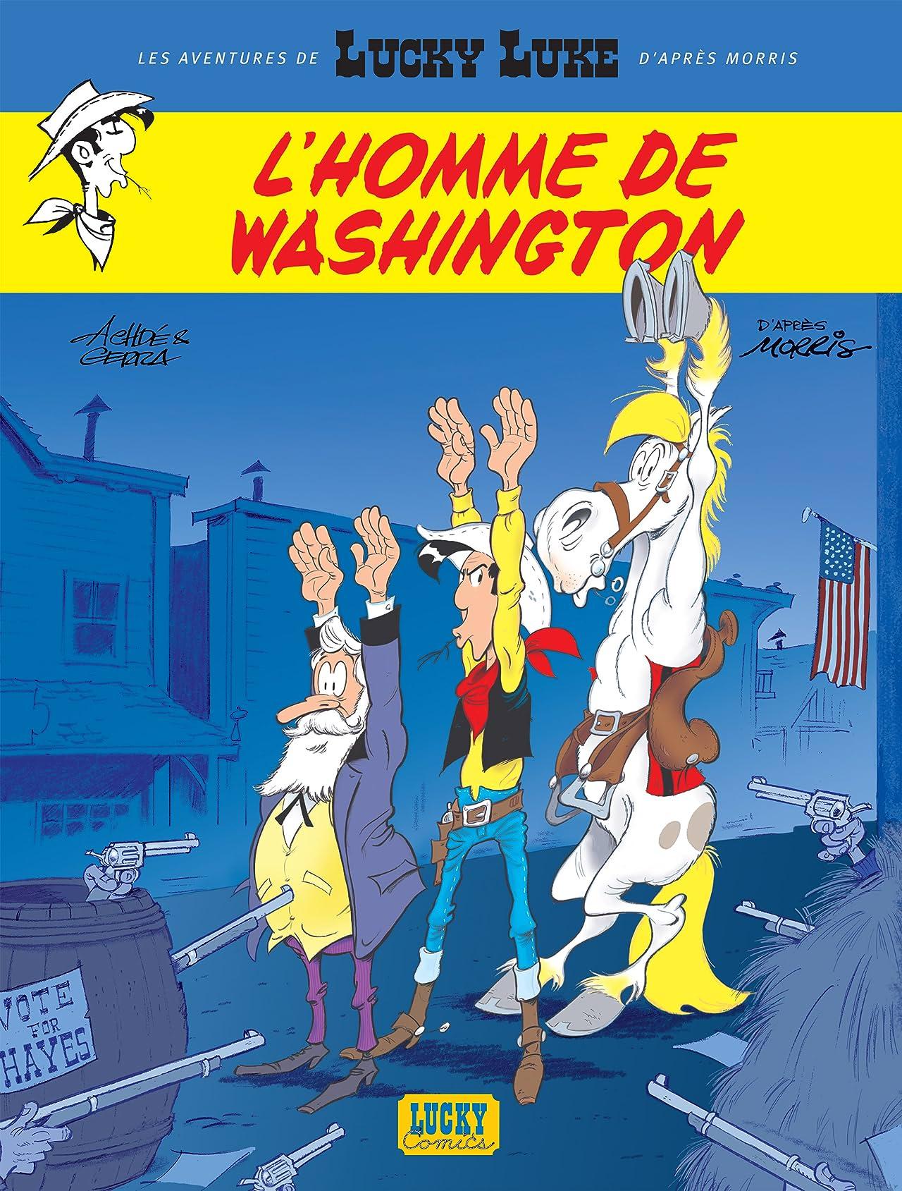 Les aventures de Lucky Luke d'après Morris Vol. 3: L'homme de Washington