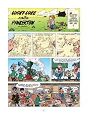 Les aventures de Lucky Luke d'après Morris Vol. 4: Lucky Luke contre Pinkerton