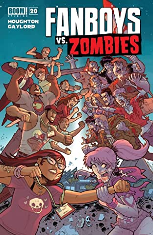 Fanboys vs. Zombies No.20