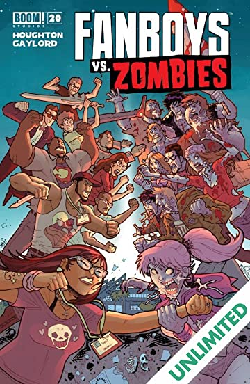 Fanboys vs. Zombies #20