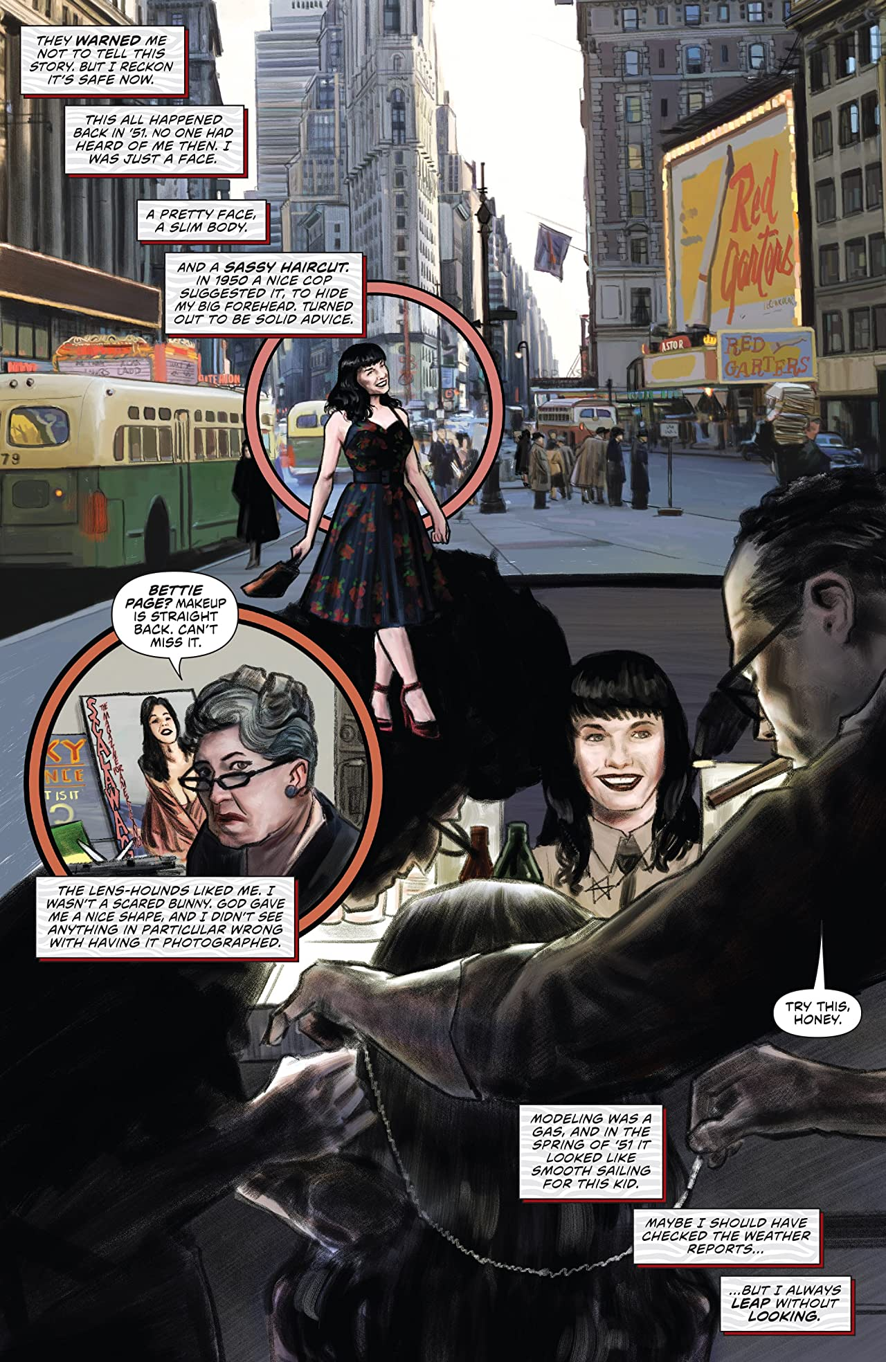 Bettie Page (2017) #1