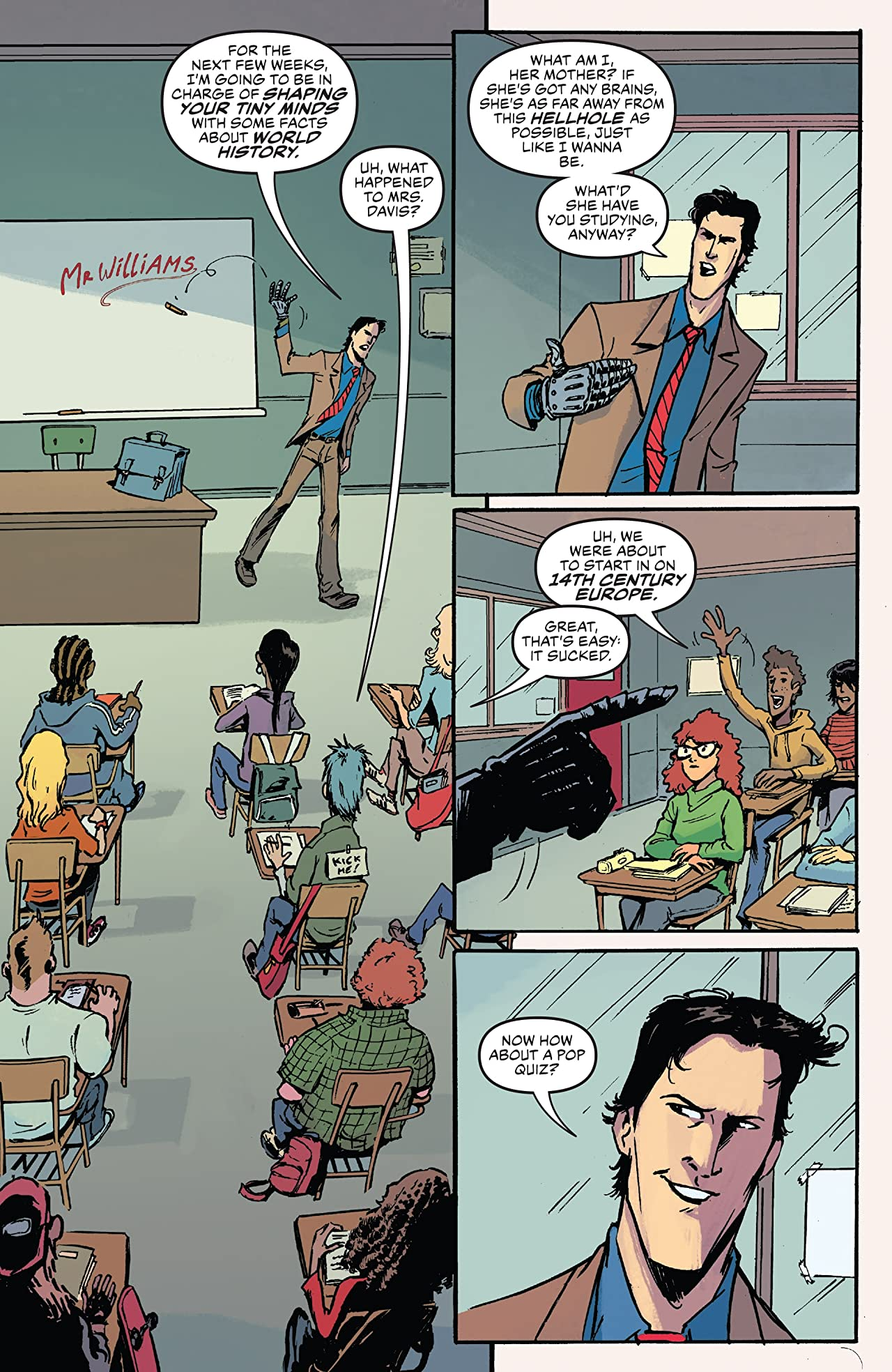 Ash Vs. The Army Of Darkness #1