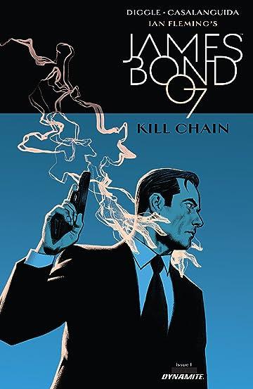 James Bond: Kill Chain (2017) #1 (of 6)